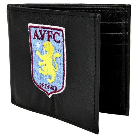 Aston Villa Embroidered PU Leather Wallet